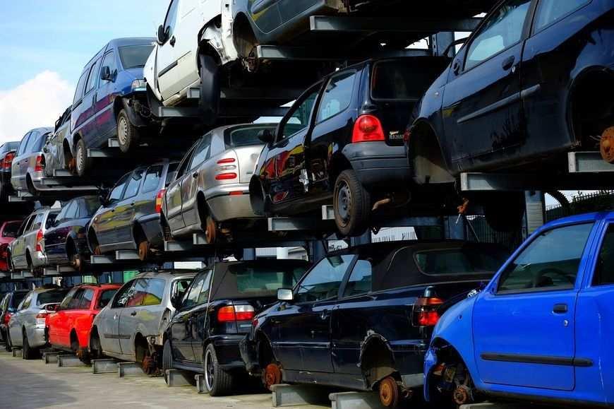 Działanie skupów samochodów