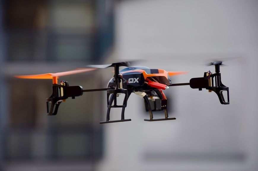 Drony w Łódzi